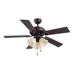 LEDS C4 Dominica Ceiling Fan with lights 30-4405-J7-E7