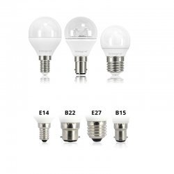 Mini Globe LED Lamp Bulbs