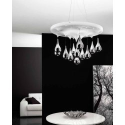 SIL LUX Pioggia SP1045 50S Chandelier Ceiling Light